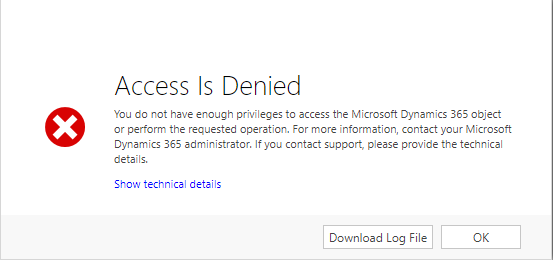Error access denied cannot assign task to other user